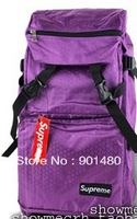 wholesale hot sale  unisex SUPREME waterproof Oxford cloth shoulder bag schoolbag fashion travel bag