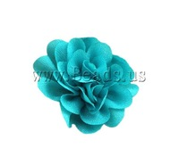 Free shipping!!!Fashion Decoration Flowers,Hot Style, cyan, 50x50mm, 100PCs/Lot, Sold By Lot