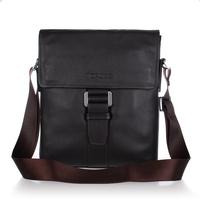 Free shipping / factory direct/ Genuine leather/ men's  messenger bag / men's shoulder bag