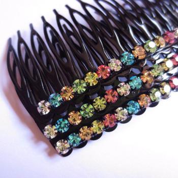 Short fashion insert comb fat plug comb maker chalybeate hair clip hair accessory hair accessory neutralizations