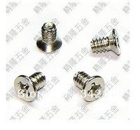 Free Shipping! 100pcs/bag 3.5 Coarse computer hard drive screws 6 # -32 * 6 countersunk head hard screw US-made screws