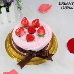 100% cotton towel cake married birthday gift box(China (Mainland))