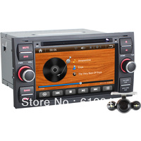 7 Inch Car Radio For Foucs Mondeo S-max C-max Fiesta Galaxy Transit Kuga with GPS Navi / Bluetooth/I-POD/Radio/Rear View Camera