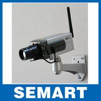 2014 brazil Wireless Dummy Fake Camera Motion Detection Moving LED Surveillance Camera