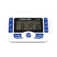 1pcs 4 Groups Alarm Timer Digital Kitchen Count Down Countdown Clock PS-360