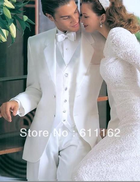 White Tuxedos For Wedding Wedding Groom Wear Tuxedos