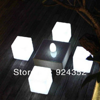 Fashionable led cube chair for party 30*30*30cm