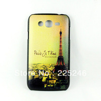 Free shipping Hard Case Cover Eiffel Tower Pattern for Samsung Galaxy Grand Duos i9082 Hot New  DC1339A DropShipping
