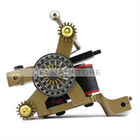 8008 Life Compass Liner Tattoo Machine Gun