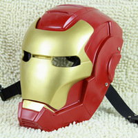 NEW The High quality Movie Theme Iron Man Resin Mask Deluxe edition Cosplay cool mask Free shipping