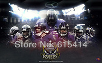 """01 Baltimore Ravens sb xlvii champions football 38""""x24"""" inch wall Poster with Tracking Number"""