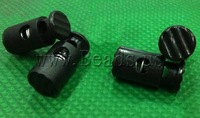 Free shipping!!!Plastic Spring Stopper,2013 Brand, black, 12x26.5, 5.5mm, 400PCs/Lot, Sold By Lot