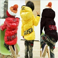 2014 children's clothing fall new winter baby Kids cotton zipper coats jackets outwear clothes for children girls and boys hoody