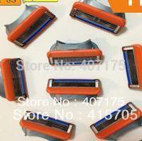 The topest quanlity Razor Blade EU / U.S /RUSSIAN  Shaving Blade Shaver Razor Free Shipping  (8pcs / package)