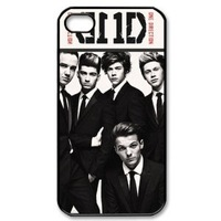 Free shipping CTSLR Music Singer Series Protective Hard Case Cover for iPhone 5 - 1 Pack - One Direction - We Are Together