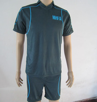 Free shipping (5 sets or more) 100% Polyester Custom team shirts/ track suit/ sports jersey