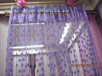 Love jacquard curtain partition curtain heart curtain shalian finished product 36