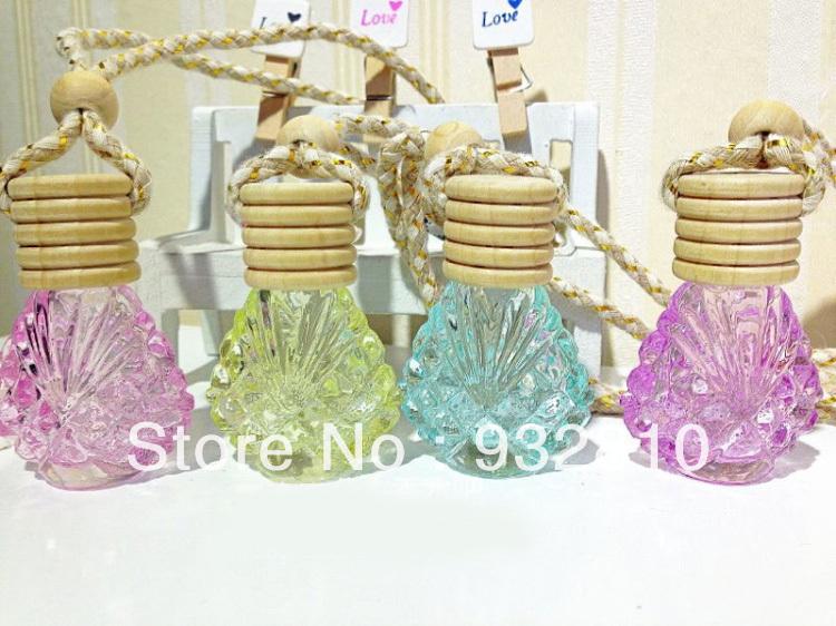 6ml Colorful Glass Perfume Bottle MINI Vials for Fragrance Deodorant Air Freshener Home Decor 10pcs/lot DC440(China (Mainland))