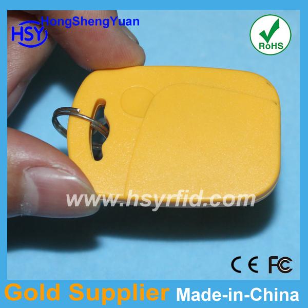 Free shipping rfid proximity tag 20pcs/lot Access control 125Khz EM ID Smart card keyfob with key chain(China (Mainland))
