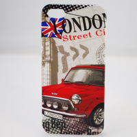 2013 New London Retro Style Hard Rubber Phone Shell Cover Skin Case Cases For iphone 5 5g iphone5