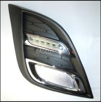 Car-Special LED DRL,LED Daytime Running Lights for Mazda 3 start import 2011-2013,6pcs LED Lights+Free Shipping By EMS or Fedex