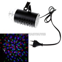 H3#R 3W Colorful LED Crystal Rotating RGB Stage Light DJ Disco Party Lamp Bulb