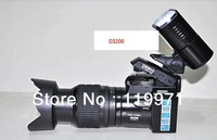 """New D3200 Digital Camera DSLR 16MP 16X Digital Zoom With 21X Optical Zoom Telephoto Lens,3.0""""LCD+LED Spotlight,Free Shipping"""