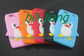 3D Penguin Cartoon Soft Silicone Gel Case for Motorola Droid RAZR XT910  1PC  ship by china post