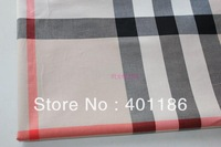 pf6 Check Cotton tartan Lattice grid Plaid fabric cloth textile yard retail or wholesale XL