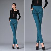 woemn's harem pants casual pants trousers elastic pants,plus size ,free shipping