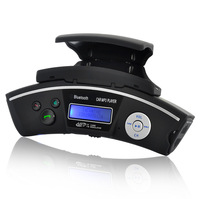 BT-168 Steering Wheel Mount Bluetooth Car Kit  Caller ID Handsfree Speaker + MP3 Player FM Transmitter Free Shipping