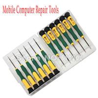 Free shipping 12 in1 Multi-purpose Precision Screwdriver Set Tools Professional Computer iPhone4/4s/5 Samsung..Repair Open Tool
