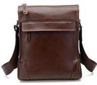 Hot Selling Genuine PU Leather Men Bag Cowhide Leather Fashion Men Messenger Bag Brand Design Bussiness Bag Promotion B30
