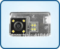 free shipping night view waterproof special  car rear view camera with IR 4 LED for  PEUGEOT 206/207/407/307(3)/307SM/308SM