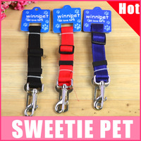 Free shipping Pet dog car safety belt the dog safety belt  dog leash dog rope pet products supplies sweetie pet