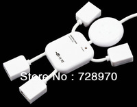 High-Speed USB 2.0 4-Port Hub Splitter Cable Adapter for Laptop PC FREE SHIPPING