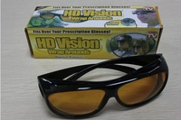 HD Vision Wrap Around Sunglasses [Fits Over Your Prescription Glasses]-Black