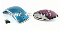 Free shipping optical wireless 2.4Ghz  computer PC laptop mouse/mice with 10m control range, comfortable design