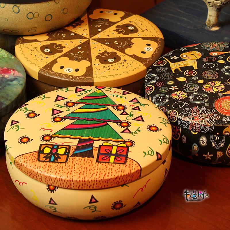 Christmas series hot-selling ! box fine jewelry storage box storage tank 6(China (Mainland))
