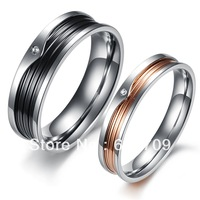 Free shipping unique his and hers promise ring sets promise rings for couples fashion jewelry 2013