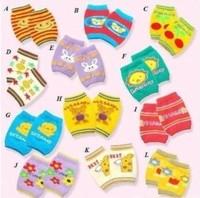freeshipping 12pair/lot unisex boy s and girls  Knee protect socks  baby crawling knee pad  children warm socks