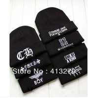 Hot Sell SSUR GD BIGBANG fashion hat knitted wool Head cap hiphop beanie Winter hats Boy Girl Style