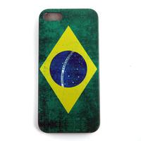 Retro National Antique Scrub National America England UK Britain Brazil Flag Case For iPhone 5 5G 5S 16Flags  1pcs/lot