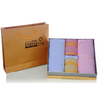 Indian fiber quality gift box 6 Indian fiber bath towel lovers towel small facecloth set