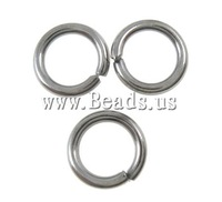 Free shipping!!!Iron Closed Jump Ring,christmas, Donut, plumbum black color plated, nickel, lead & cadmium free, 5x0.8mm