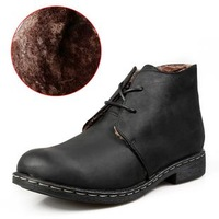 Free Shipping+Hot Selling Classice Men's Winter Boots High-Quality Geniune Leather Martin Boots Outdoor Winter Protection -40