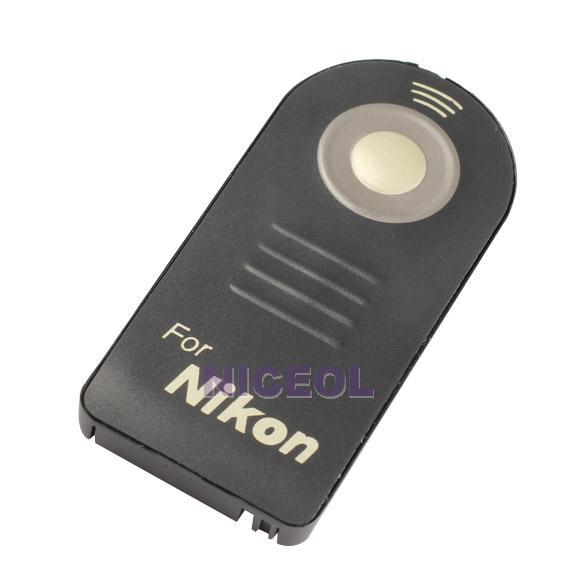 NI5L Wireless IR Remote Control ML-L3 for Nikon D7000 D5100 D5000 D3000(China (Mainland))