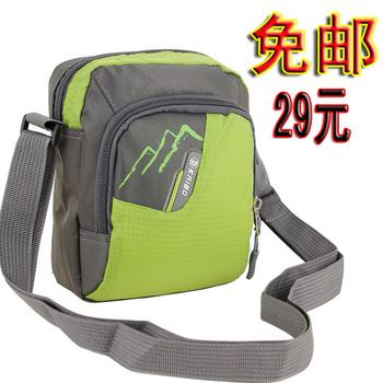 Free shipping 8 messenger bag sports bag portable mini general waist pack travel casual bag