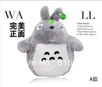 Fee Shipping Promotion Plush toys totoro, birthday gift, Christmas, the lowest price, gray 4PCS/LOT