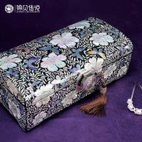 Princess wood jewelry box vintage quality accessories jewelry lock box